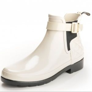 New Hunter Chelsea Rain Boot Refined Gloss
